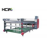 Buy cheap 80cm drum 1.9 m width Roller heat press machine Sublimation Heat Transfer from wholesalers