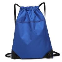 Buy cheap Eco Friendly Outdoor Waterproof Bag / Drawstring Backpack With Front Zipper Pocket from wholesalers