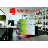 Buy cheap Spanish Language Windows 10 Pro COA Sticker Original Online Activation from wholesalers