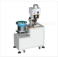 Buy cheap Loose - Piece  Wire Terminal Crimping Machine With Automatic Feeder Bowl from wholesalers