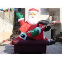 Wholesale Giant Inflatable Santa Claus Christmas Decorations Outdoor from china suppliers