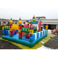 Buy cheap Inflatable Disney Amusement Park With Mickey Mouse And Donald Duck from wholesalers