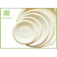 Buy cheap Eco - Friendly Disposable Wooden Plates Biodegradable Bamboo Plates OEM from wholesalers