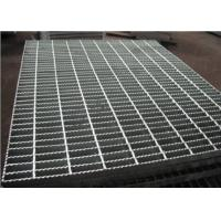Buy cheap 19-W-4 Serrated Steel Grating / Open Grate Stair Treads Galvanized Steel product