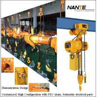 Buy cheap Light Duty 2 Ton Electric Hoist Mechanical Engine Lifting Chain Hoist from wholesalers