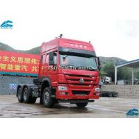 Buy cheap 420hp  Howo Sinotruk 6x4 Tractor Truck , 10 Wheeler Tractor Head Rated Power 309kw from wholesalers