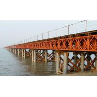 Buy cheap Steel bailey bridge design and fabrication with Assembled Temporary from wholesalers
