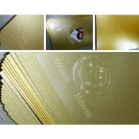 Buy cheap Gold Color Digital Printing PVC Sheets For Plastic Card Lamination from wholesalers