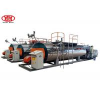 Buy cheap Fire Tube 2 T/H Horizontal Steam Boiler Dual Fuel Type Garment Factory Usage from wholesalers