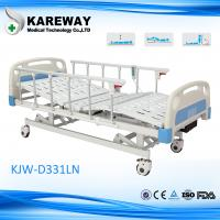 Buy cheap 3 Functions FDA Electric Hospital Bed , Anti - Rust Intensive Care Beds from wholesalers