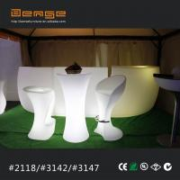 China rechargeable LED lighting cocktail table portable lighting bat table on sale