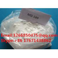 Buy cheap High Purity Raw Nootropics Antidepressant Nsi-189 CAS 1270138-40-3 from wholesalers