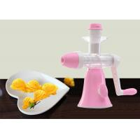 Wholesale Frozen Fruit Ice Cream Maker No Harmful Additive Power Free Whole Unit Washable from china suppliers