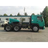 Buy cheap 2017 New Jewelry blue EUROII  336hp HOWO7 Sinotruk Tractor  truck with 1 sleeper and spare tire and 3.5Inch kingpin from wholesalers