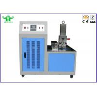 Buy cheap Blue Environmental Test Chamber , Rubber Plastic Low Temperature Brittleness product
