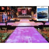 Buy cheap P4.81 Outdoor Rental Led Backdrop Floor Display Screen High Definition High Brightness for Outdoor Wedding from wholesalers