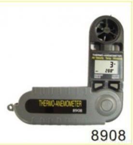 China 8908 Mini Windspeed Meter Mini Air Flow Meter on sale