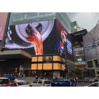 Buy cheap AC110-220V P6.4 LED Advertising Board , Die Cast Outdoor LED Billboard 1/4 Scan from wholesalers