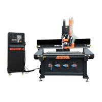 Buy cheap AC380V 4X8FT 3D CNC Wood Carving Machine For Woodworking Industry from wholesalers