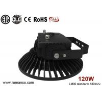 AC100V UFO led high bay lamp , Outdoor 120W led high bay lights pf >0.95 Manufactures