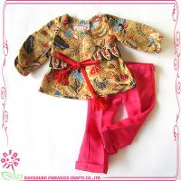 Buy cheap Farvision doll clothes with red pants oem national doll clothes from wholesalers