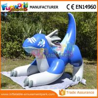 Buy cheap Blue Inflatable Cartoon Characters Advertising Inflatable Sea Dragon Shape from wholesalers