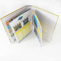 Buy cheap Customized Catalog Color Booklet Printing with hot stamping for promotion, marketing  from wholesalers