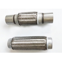 Buy cheap SS304 51mmx100mmx200mm Flexible Metal Exhaust Hose from wholesalers