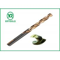 Buy cheap Jobber Length HSS Drill Bits For Metal Stainless Steel 3 Flats Turbo Max from wholesalers