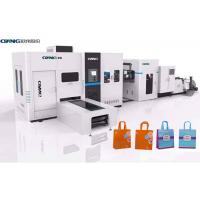 Efficient Productivity Non Woven Carry Bag Making Machine 380 V 50 Hz 3 Phase Manufactures