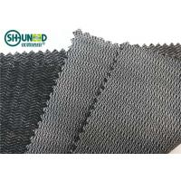 Wholesale Black Color Woven Interlining Napping PA Adhesive Tricot Interlining For Suit And Jacket from china suppliers