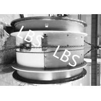 China Heavy Steel Wire Rope Winch Roll Sleeve With Lebus Double Broken Line Rope Groove on sale