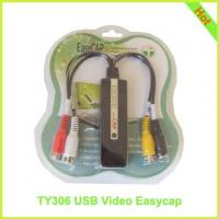 Buy cheap TY306: USB Video EasyCap USB 2.0 Video Adapter with Audio from wholesalers