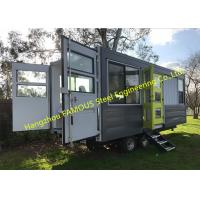 Buy cheap Modern Design Shipping Container House On Wheels Tiny Container Home With AUS/NZ Approved from wholesalers