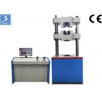 Buy cheap Computer Rubber Tensile Testing Machines 1000KN With Panasonic Servo Motor / PC Display from wholesalers