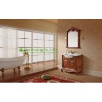 bathroom cabinet best sellinghigh end solid wood luxury poland antique bathroom furniture with cabinet Manufactures