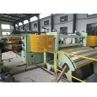 Wholesale Metal High Speed Coil Slitting Machine VF Speed Adjusting 0~50/80m / Min from china suppliers