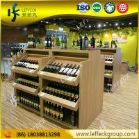 Buy cheap Classic style beer liquor bottle display shelf wholesale from wholesalers