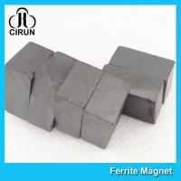 Buy cheap Strong Block Shaped Ceramic Ferrite Magnets C5 Grade For Industrial Use from wholesalers