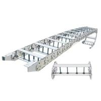 Buy cheap Steel Cable Wire Hose Carrier Towline Chain Drag Energy Chain With Supporting Board from wholesalers