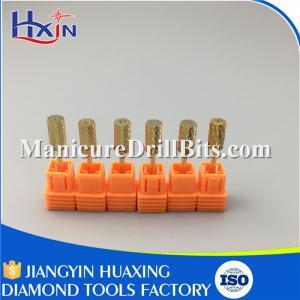 Large Barrel Tungsten Carbide Drill Bit Set For Nail Machines Type XXXC HXTC--007-C