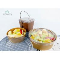 Wholesale Pasta Salad / Meal Food Delivery Container 750ml Leak Proof Food Grade Eco - Friendly from china suppliers