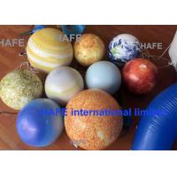 Buy cheap Customize 3.5m Inflatable Advertising Balloon Venus Mars Jupiter Mercury Saturn Earth from wholesalers
