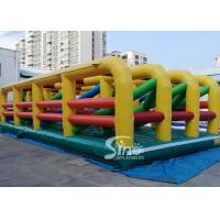 Buy cheap Extreme Maze Obstacle 5k Course Inflatable Fun Run Challenge For Obstacle Games from wholesalers