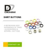 Buy cheap Metal 5 - prong Snap Buttons Brass Colored Press Buttons Candy color Painted snaps from wholesalers