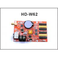 China HD-W40 HD-W62 USB+Wifi P10 LED display module control card, Single&Dual Color led control system on sale