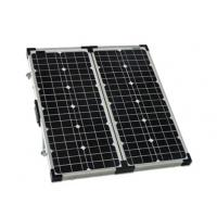 Wholesale Ourdoor Black Folding Portable Solar PanelsMedium Size 3% Power Tolerance from china suppliers