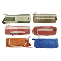 Buy cheap Cloth pencil case, fabric zipper case from wholesalers
