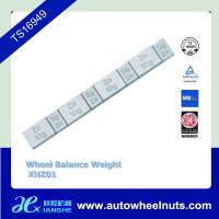 Buy cheap Zn Die Casting Coated Stick On Adhesive Wheel Balance Weight Lead Free from wholesalers
