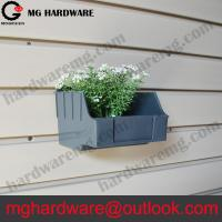 Buy cheap Plastic Slatwall Bins Grey color Small size for holding screws from wholesalers